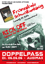 Doppelpass - Franzobel and KICK OFF in Vienna